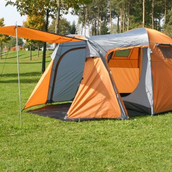 MONTIS HQ MONTANA, 4P, Camping Zelt, 375x245, 7,9kg