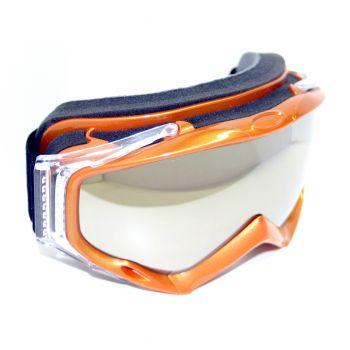 NAVIGATOR LAMBDA, Ski u. Snowboardbrille, f. Helme, UV400, Double-Lens